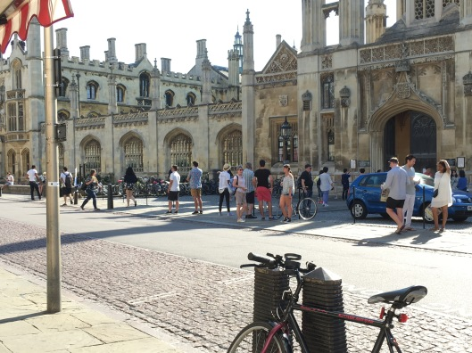 King's Parade, with the facade of King's College